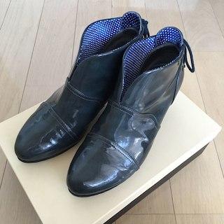 オゥバニスター(AU BANNISTER)のAu BANNISTER レインシューズ L(24cm)(レインブーツ/長靴)