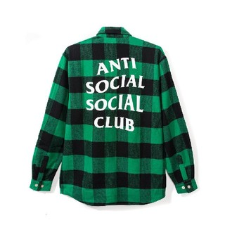 アンチ(ANTI)のs2y2様 anti social social club assc ネルシャツ(シャツ)