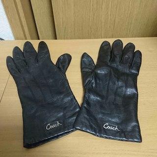 コーチ(COACH)の■お買い得品■ COACH コーチ 手袋/グローブ 革 /皮/レザー/カシミア(手袋)