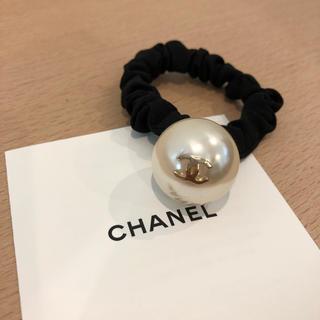 シャネル(CHANEL)のシャネル ノベルティ シュシュ 新品・未使用♪(ヘアゴム/シュシュ)