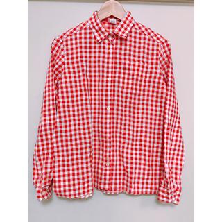 サンタモニカ(Santa Monica)のused チェックコットンシャツ(シャツ/ブラウス(長袖/七分))