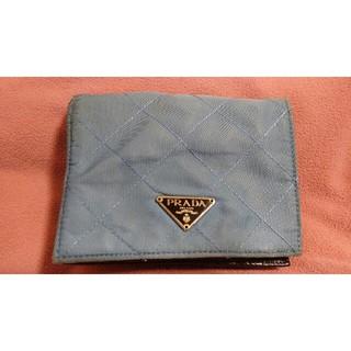 プラダ(PRADA)の【難ありご了承いただいた上でご購入ください】プラダ 2つ折り財布(財布)