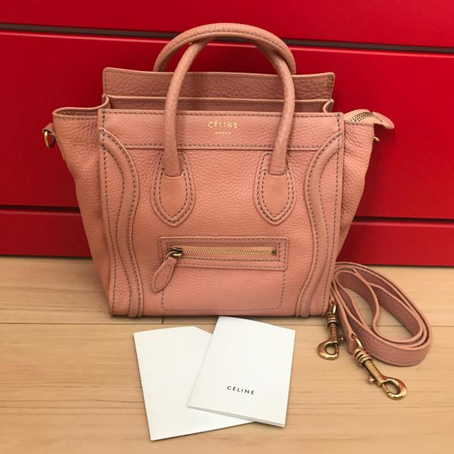 sale retailer a8287 09f2b ラゲージナノショッパー ピンク | フリマアプリ ラクマ
