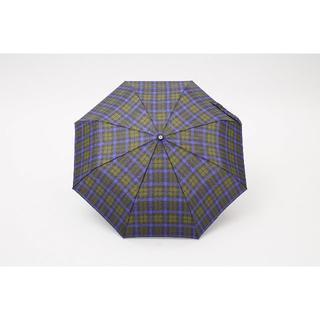 トーツ(totes)のトーツ (totes)手動折り畳み傘 48cm B66(グリーンチェック)(傘)