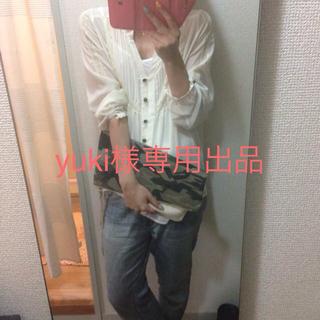 ラブガールズマーケット(LOVE GIRLS MARKET)のホワイトシフォンシャツ(シャツ/ブラウス(長袖/七分))