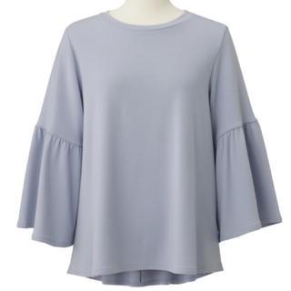 ジーユー(GU)のGUボリュームフレアスリーブTシャツXL(Tシャツ(長袖/七分))
