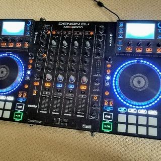 デノン(DENON)の【美品】数回使用 スタンドアロンDJコントローラー DENON MCX8000 (DJコントローラー)