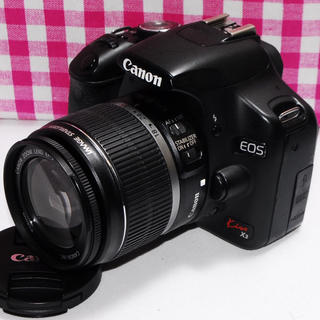 キヤノン(Canon)の❤相棒と出かけよう❤Canon Kiss x3 レンズキット⭐安心保証⭐(デジタル一眼)