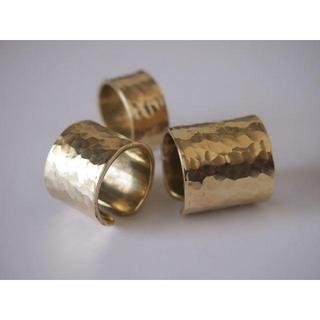 本格brass(真鍮)リング【2個組】(リング(指輪))