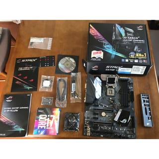エイスース(ASUS)のくり様専用i7 7700Kとマザーasus Z270F gamingセット(PCパーツ)