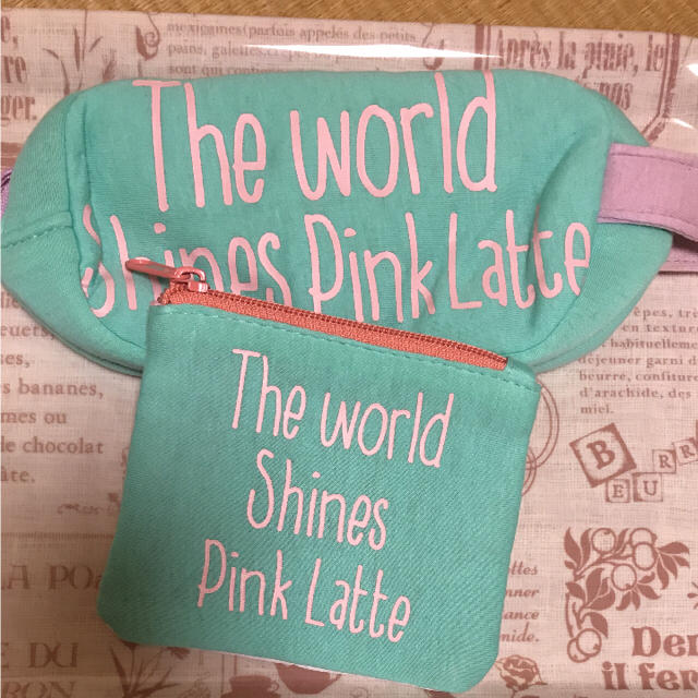 PINK-latte(ピンクラテ)のピンクラテ  ポーチ2点セット レディースのファッション小物(ポーチ)の商品写真