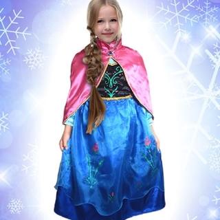 アナトユキノジョオウ(アナと雪の女王)の☆アナ雪 アナ ドレス プリンセス☆エルサ(ドレス/フォーマル)
