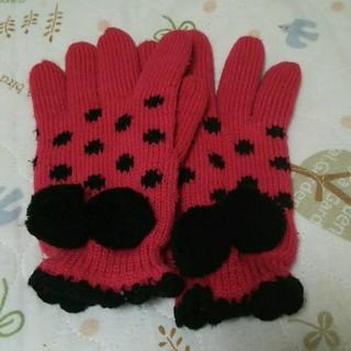 ピンクラテ(PINK-latte)のピンクラテ*ニット手袋(手袋)