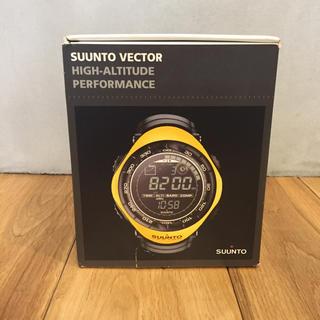 スント(SUUNTO)の【値下げ】SUUNT VECTER スント ベクター イエロー(腕時計(デジタル))