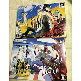 プレイステーション2(PlayStation2)のスカーレッドライダーゼクス/セット/PS2(家庭用ゲームソフト)