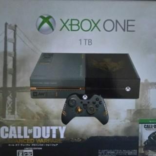エックスボックス(Xbox)のxbox one 1tb cod限定版 中古美品 付属品完備(家庭用ゲーム機本体)
