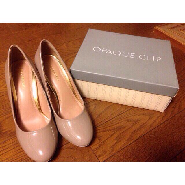 OPAQUE(オペーク)のお値下げ中♥︎キラキラヒールパンプス♥︎ レディースの靴/シューズ(ハイヒール/パンプス)の商品写真