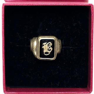 キャリー(CALEE)のCALEE COLLEGE PINKIE RING ピンキーリング Gold(リング(指輪))
