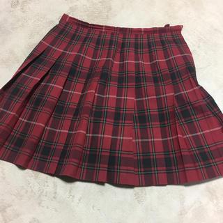 イーストボーイ(EASTBOY)のeast boy  制服 スカート 赤(ひざ丈スカート)
