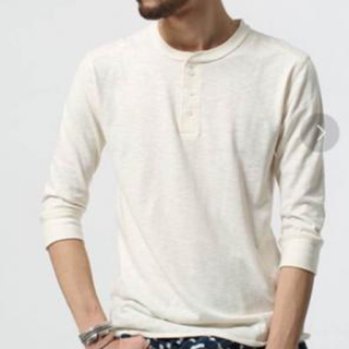 ハイミー(HIMMY)のHIMMY ハイミー nubian ヌビアン ヘンリーカット (Tシャツ/カットソー(七分/長袖))
