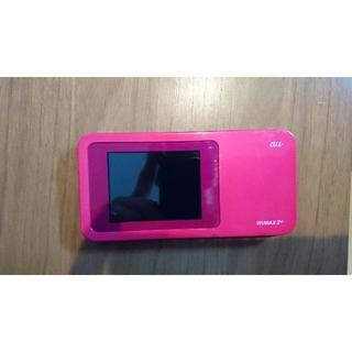 エーユー(au)のau pocket wi-fi  wimax2+【値下げしました】(PC周辺機器)