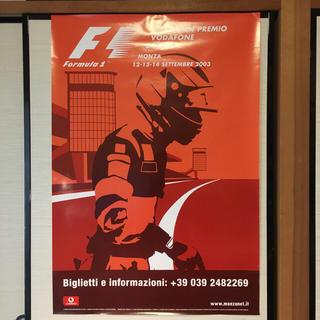 フェラーリ(Ferrari)のF1 2003年 イタリアGP 公式 ポスター フェラーリ レアな逸品(その他)
