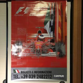 フェラーリ(Ferrari)のF1   2000年 イタリアGP  ポスター フェラーリ シューマッハー レア(その他)