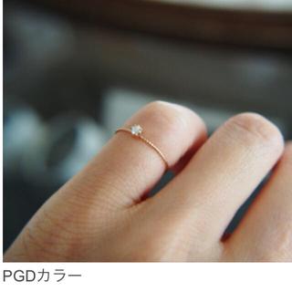 ouca/10金 ダイヤモンドピンキーリング(リング(指輪))