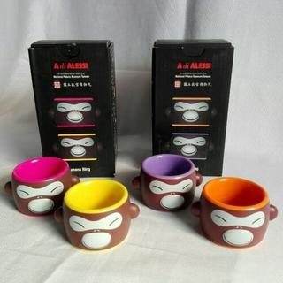 アレッシィ(ALESSI)のアレッシィ ナプキンリング  (2箱4個セット)(テーブル用品)
