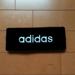 アディダス(adidas)のadidas ヘアバンド 黒(ヘアバンド)