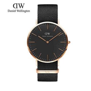 ダニエルウェリントン(Daniel Wellington)の新品 保証付 ダニエル ウェリントン クラシック40mm ピンクゴールド(腕時計(アナログ))