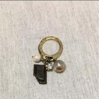 キューポット(Q-pot.)のQ-Pot チョコレート 指輪(リング(指輪))