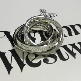 ヴィヴィアンウエストウッド(Vivienne Westwood)の美品 dustinリングS  (9-11号) ヴィヴィアン(リング(指輪))