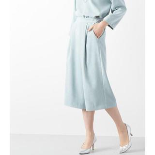 ラウンジドレス(Loungedress)のラウンジドレス  フェイクスエードパンツ(クロップドパンツ)
