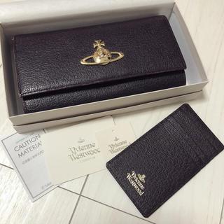 ヴィヴィアンウエストウッド(Vivienne Westwood)のVivienne Westwood EXECUTIVE 長財布&パスケース(財布)