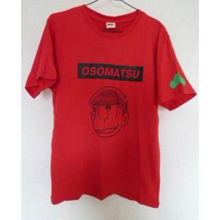 シマムラ(しまむら)のしまむら×おそ松さん コラボTシャツ(おそ松カラー赤,メンズL)(その他)