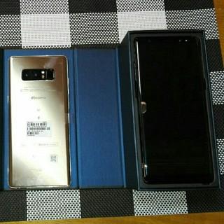 サムスン(SAMSUNG)のgalaxy note8 SC-01K Black(スマートフォン本体)