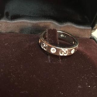 グッチ(Gucci)のGUCCI GG ICON 6P DIAMOND RING K18WG 11(その他)