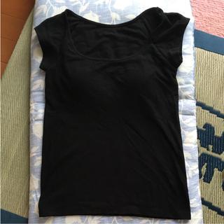 ムジルシリョウヒン(MUJI (無印良品))の無印良品 カップ付き清涼Tシャツ(Tシャツ(半袖/袖なし))