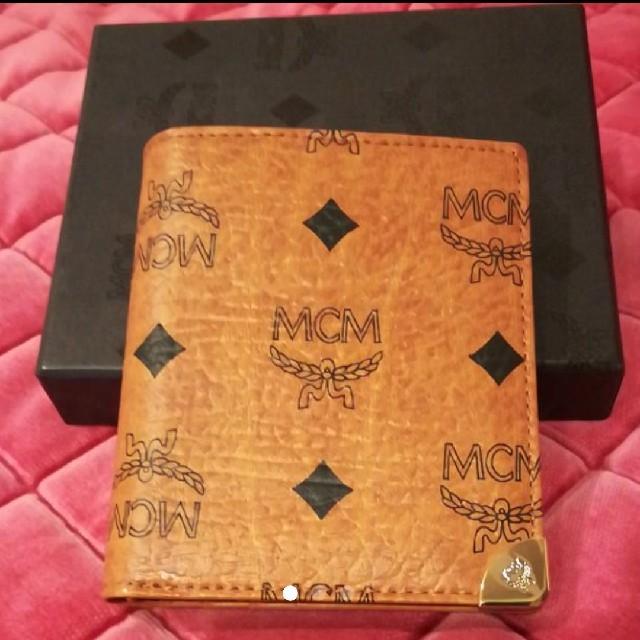 9e6bf778fe3b MCM - 新品未使用 MCM 二つ折り財布の通販 by こつめ's shop|エムシー ...