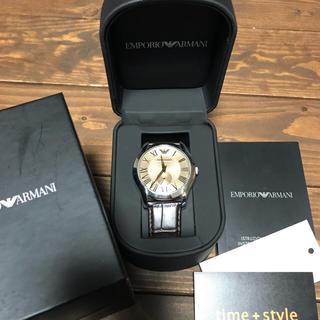 エンポリオアルマーニ(Emporio Armani)のアルマーニ時計 レザーベルト(レザーベルト)