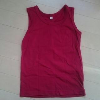 ムジルシリョウヒン(MUJI (無印良品))の無印良品 キッズタンクトップ(Tシャツ/カットソー)