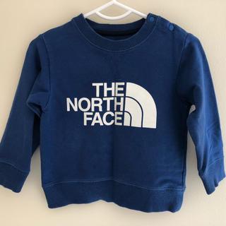 ザノースフェイス(THE NORTH FACE)のTHE NORTH FACE ベビー トレーナー 80(トレーナー)