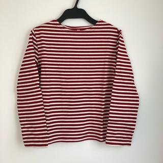 ムジルシリョウヒン(MUJI (無印良品))の無印ボーダーロンT(Tシャツ/カットソー)