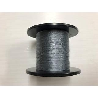 PEライン0.6号 #0.6(単色グレー500m)0.12mm W・B・F・(釣り糸/ライン)