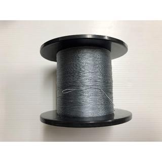 PEライン0.8号 #0.8(単色グレー500m)0.14mm W・B・F・(釣り糸/ライン)