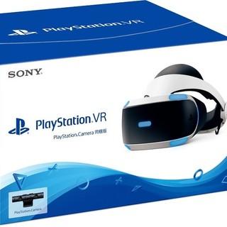 プレイステーションヴィーアール(PlayStation VR)のPlayStation VR PlayStation Camera同梱版  最新(家庭用ゲーム機本体)