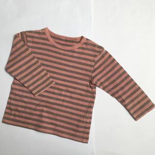 ムジルシリョウヒン(MUJI (無印良品))の無印良品  長袖  Tシャツ  80cm(Tシャツ)