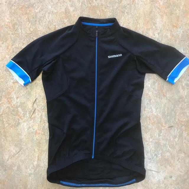 シマノスリムフィットサイクルウェアー 日本サイズM(袖.切りっぱなしプロ仕様) スポーツ/アウトドアの自転車(ウエア)の商品写真