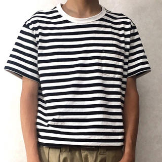 ムジルシリョウヒン(MUJI (無印良品))の無印良品 ボーダーT(Tシャツ/カットソー(半袖/袖なし))